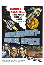 Space Men Poster