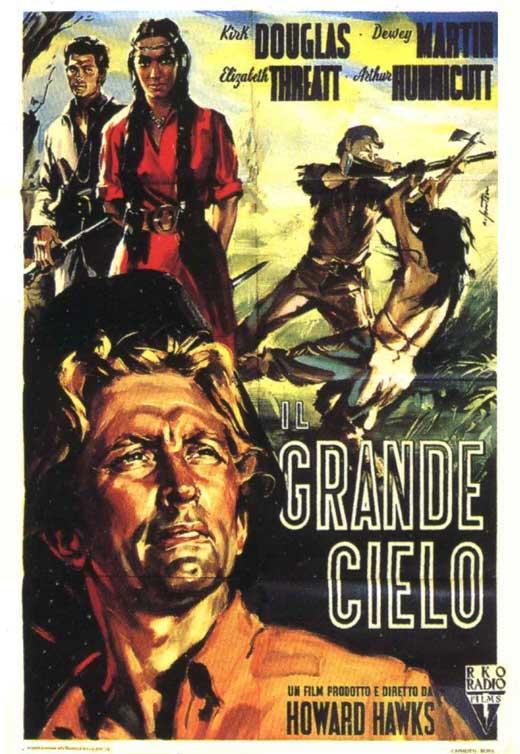 poster italiano del film: il grande cielo