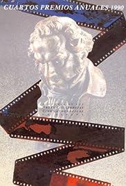 IV premios Goya Poster