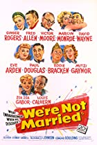 We're Not Married! (1952) Poster