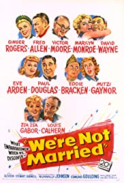 We're Not Married! (1952) Poster - Movie Forum, Cast, Reviews