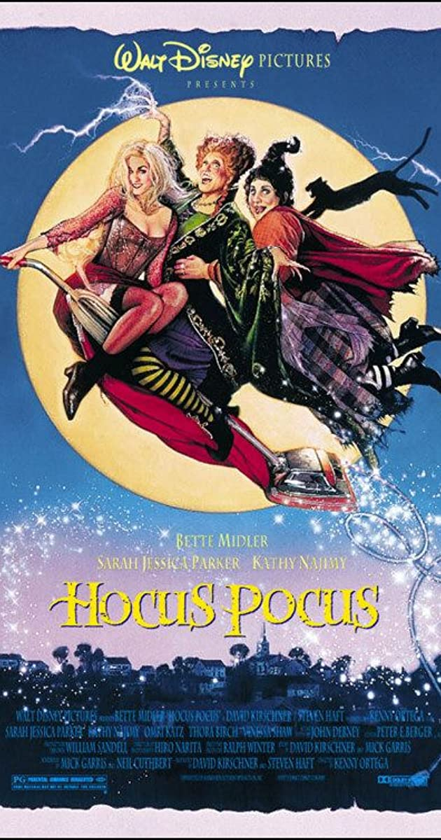 hocus pocus 1993 imdb - Top Kids Halloween Movies