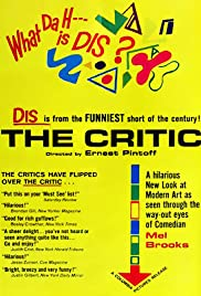 The Critic (1963) Poster - Movie Forum, Cast, Reviews