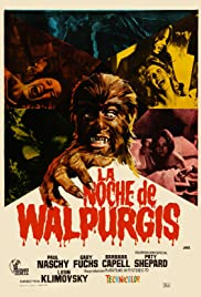 The Werewolf Versus the Vampire Woman Poster