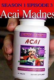 Acai Madness Poster
