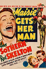 Maisie Gets Her Man (1942) Poster - Movie Forum, Cast, Reviews