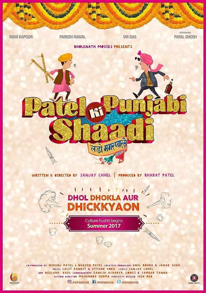 Patel Ki Punjabi Shaadi (2017) Hindi 720P DVDRip x264 AAC 1GB