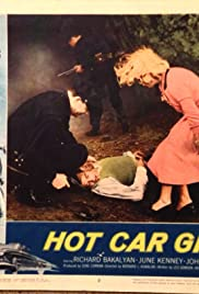 Hot Car Girl Poster