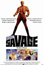 Doc Savage: The Man of Bronze Poster