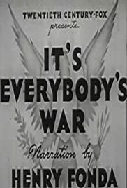 It's Everybody's War Poster