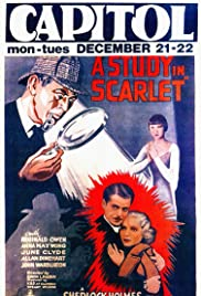 A Study in Scarlet (1933) Poster - Movie Forum, Cast, Reviews