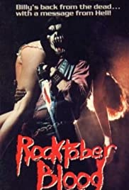 Rocktober Blood Poster