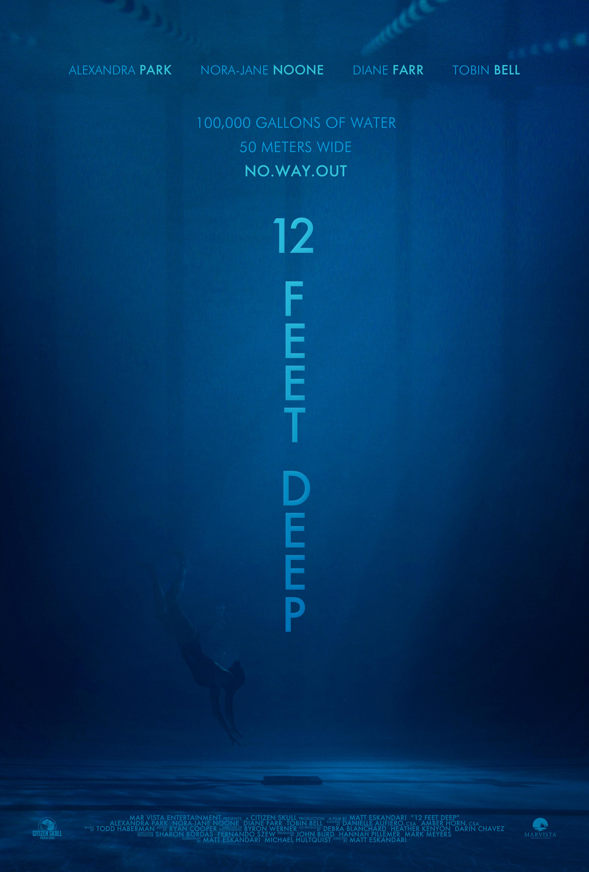 12 Feet Deep – The Deep End 2016 Türkçe Dublaj izle