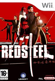 Red Steel Poster
