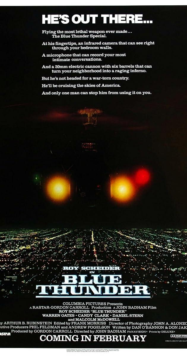 Žydrasis griaustinis / Blue Thunder (1983) Online