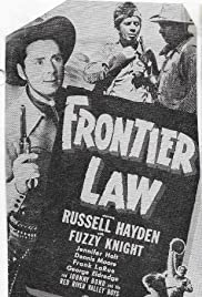 Frontier Law Poster