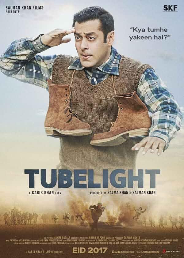 Tubelight (2017) Hindi 720p HDRip x264 AAC ESubs by R@ck!
