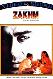 Zakhm 1998 Hindi Movie 720p 2.2GB DVDRip AC3 5.1 mkv