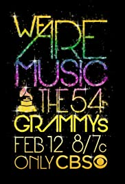 The 54th Annual Grammy Awards Poster