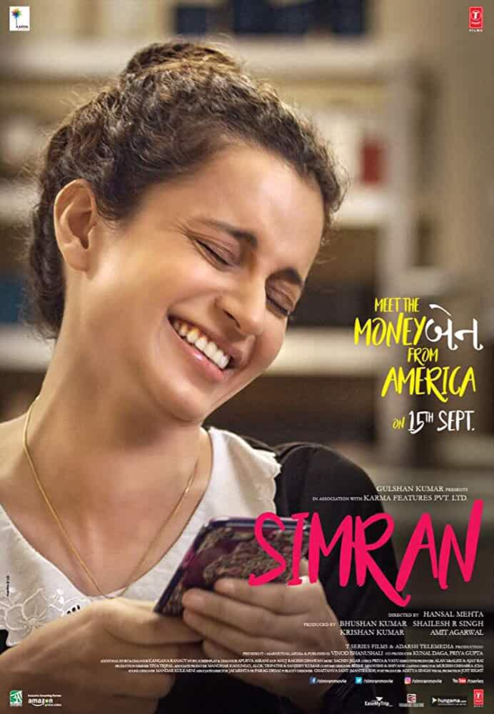 Poster Simran 2017 Full Hindi Movie Download Free