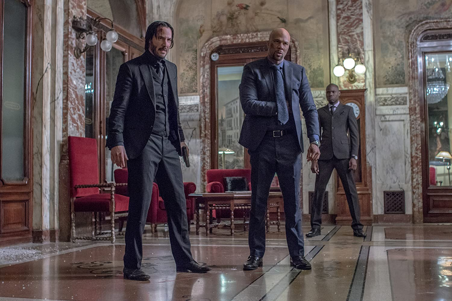 Keanu Reeves Common John Wick