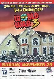 WCW World War 3 Poster