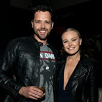 Malin Akerman and Nick Mennell