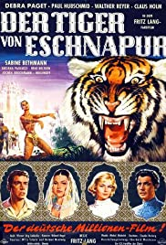 Der Tiger von Eschnapur (1959) Poster - Movie Forum, Cast, Reviews
