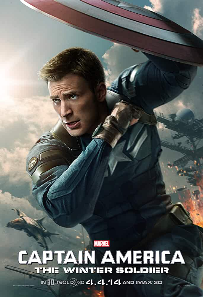 Poster Captain America The Winter Soldier (2014) Full Hindi Movie Download Dual Audio