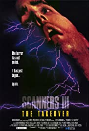 Scanners III: The Takeover Poster