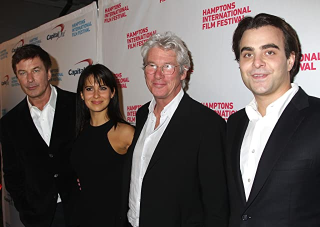 Richard Gere, Alec Baldwin, Nicholas Jarecki, and Hilaria Baldwin