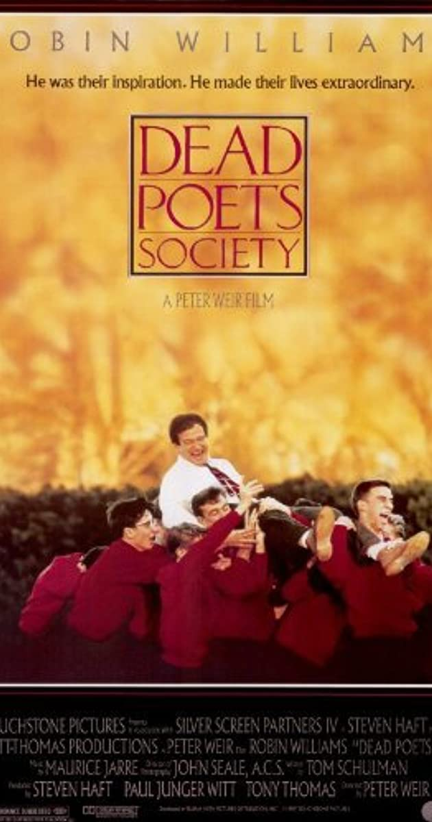 dead poets society characters names