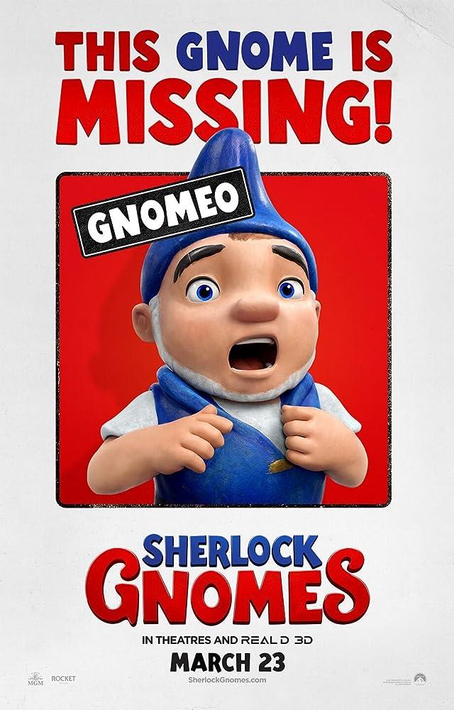 Gnomeo & Juliet: Sherlock Gnomes (2018)