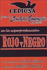 Rojo y negro Poster