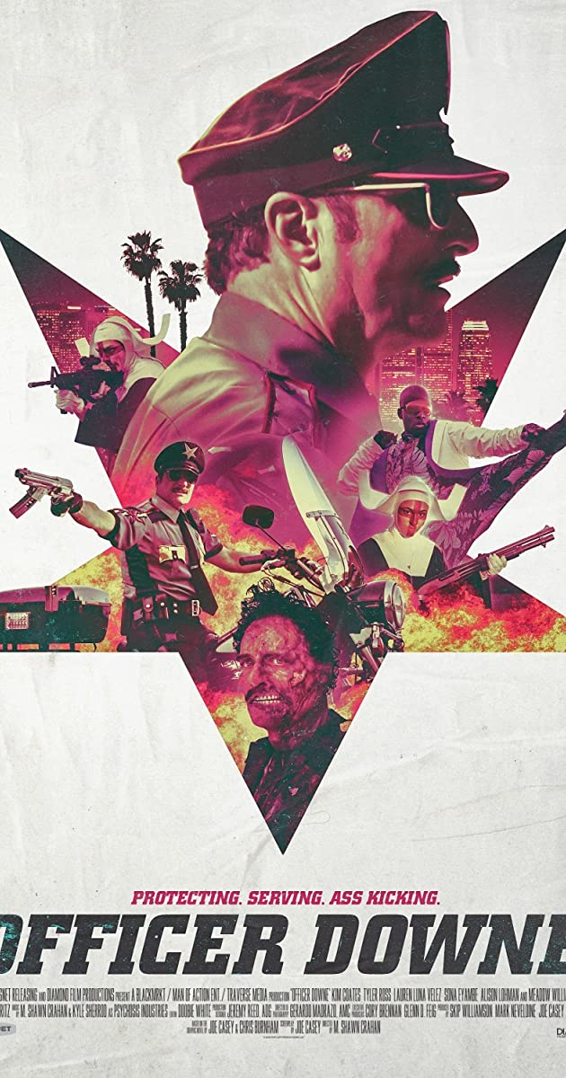 Officer Downe (2016) Bluray