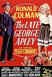 The Late George Apley (1947) Poster - Movie Forum, Cast, Reviews