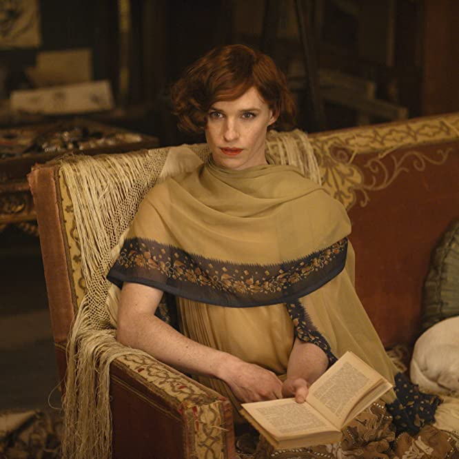 Eddie Redmayne in The Danish Girl (2015)