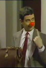 Mr. Bean's Red Nose Day Poster