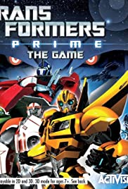 Transformers Prime: The Game Poster