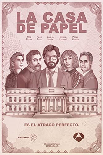 La casa de papel 2017 - La casa de la manpara ...