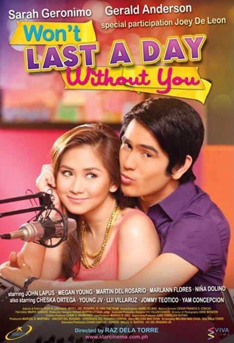 Won't Last a Day Without You (2011)