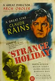 Strange Holiday Poster