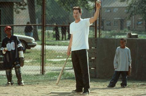 Keanu Reeves, Brian M. Reed, and DeWayne Warren in Hard Ball (2001)