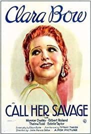 Call Her Savage Poster