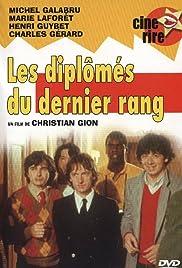 Les diplômés du dernier rang Poster