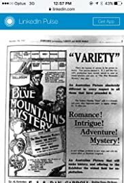 The Blue Mountains Mystery Poster