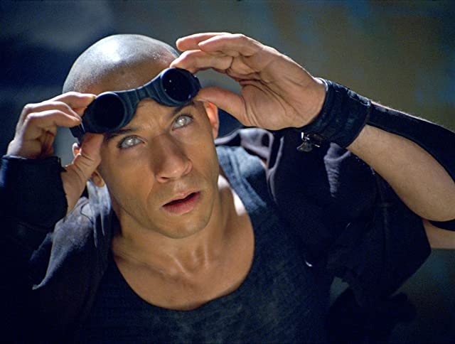 Vin Diesel in The Chronicles of Riddick (2004)