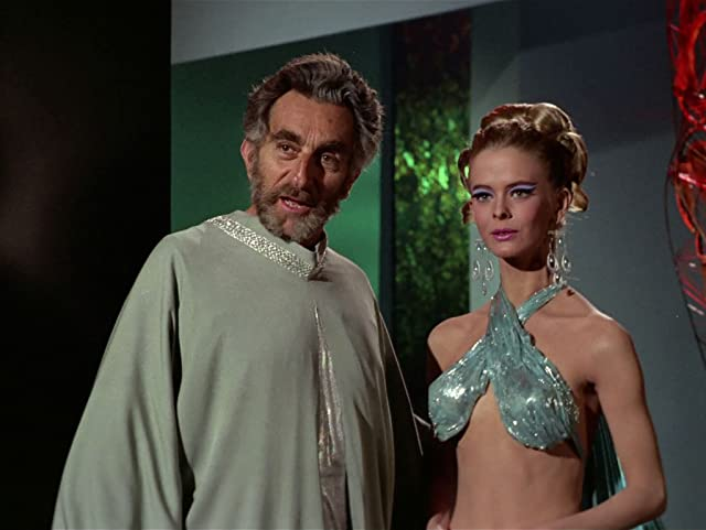 Jeff Corey and Diana Ewing in Star Trek (1966)
