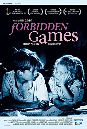 Forbidden Games poster