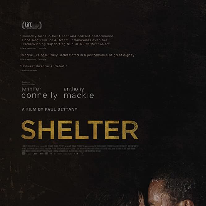 Jennifer Connelly and Anthony Mackie in Shelter (2014)